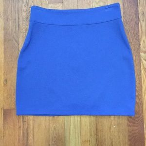 Urban Outfitters mini skirt (blue)